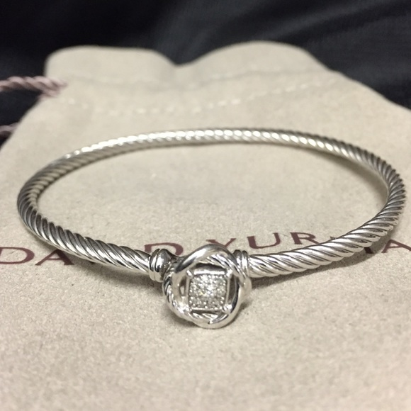 eac426b722097 David Yurman Jewelry - Infinity  Bracelet with Diamonds by David Yurman