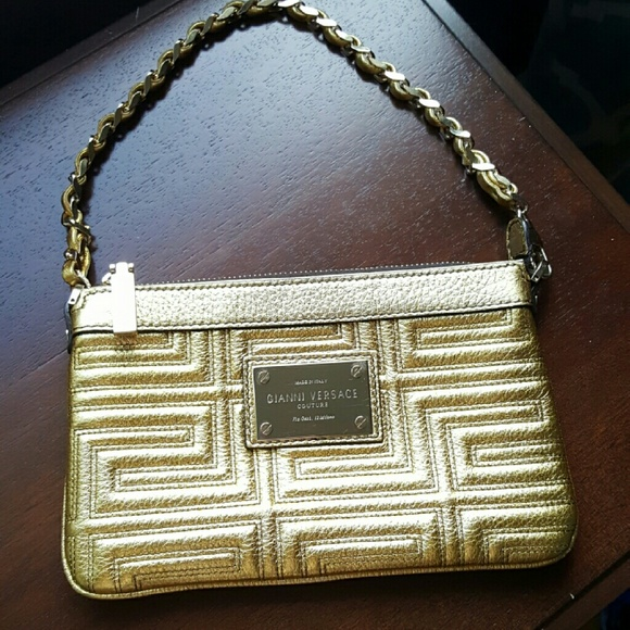 3d68062db83 Versace Bags   Gianni Couture Gold Clutch   Poshmark