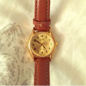American Apparel Casio Leather Watch