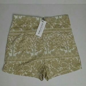 Novella Royale Pants - Novella Royale Tan Women's Shorts - NWT