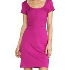 Diane von Furstenberg Dresses & Skirts - Diane von Furstenberg BALLY Pink Gathered Dress P
