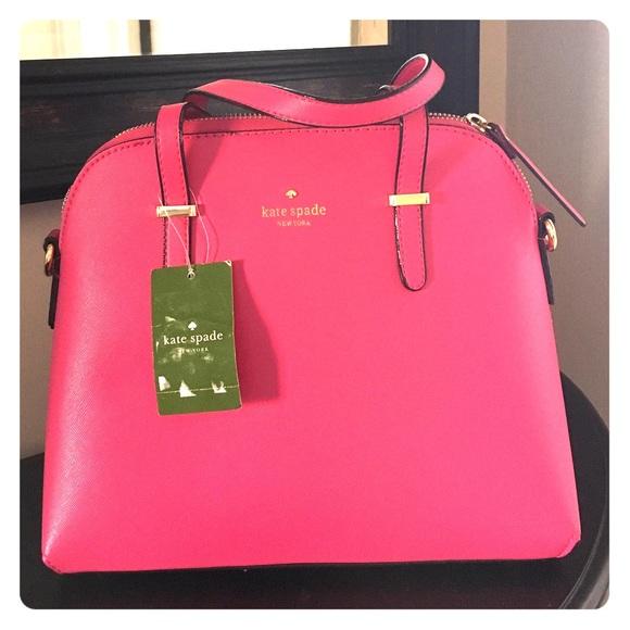 70% off kate spade Handbags - Kate Spade Large Maise purse Flame ...