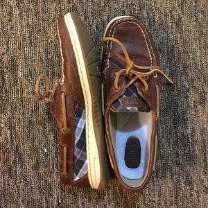 Sperry Top-Sider Shoes - Sperry Size 8 Boat Shoes Leather NEW $35 is lowest
