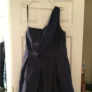 89 dresses skirts navy blue dress just above the