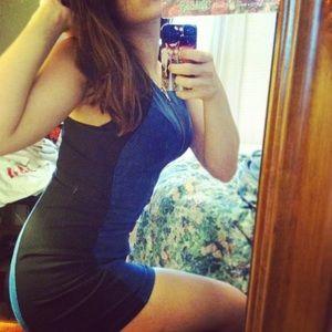 Bodycon Forever21 mini dress