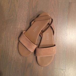 Shoes - Nude Tkees Sandals!