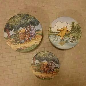 Disney  Other - Winnie the Pooh Nesting Storage Boxes