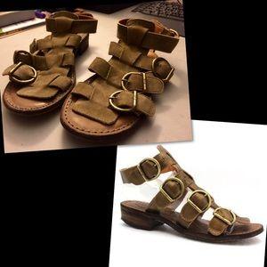 Fiorentini + Baker Shoes - Fiorentini & Baker Leather Boho Festival Sandals