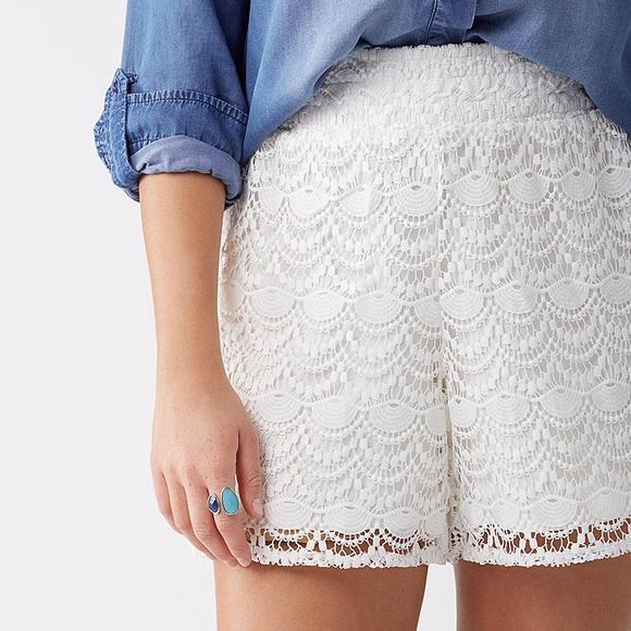 Lane Bryant Shorts Hpfirm Crochet Short Plus Size 2628 Poshmark