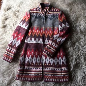 Red Ranch southwestern coat