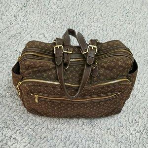 77 off louis vuitton handbags sold authentic louis vuitton mini lin diaper bag from sonia 39 s. Black Bedroom Furniture Sets. Home Design Ideas