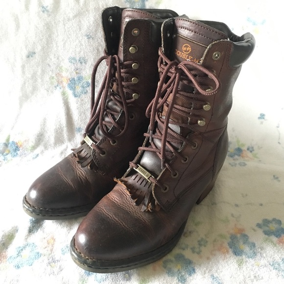 Womens Double H Packer Boots