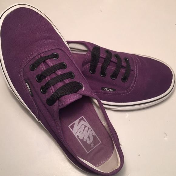 7c6769277d9c Vans beautiful dark purple skate shoes