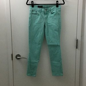 J. Crew toothpick ankle jeans size 27