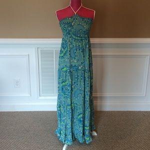 Sz L Maxi Dress
