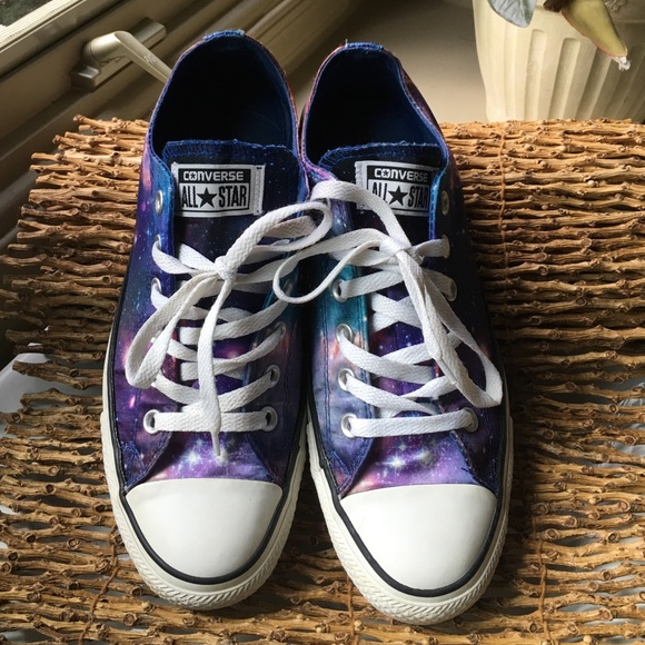 d1860bd8f9f9fc Converse Shoes - Converse all Star lol space print sneaker size 9