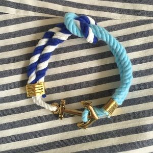 Jewelry - Rope nautical/anchor bracelet.