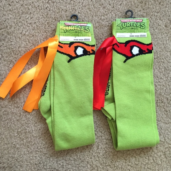 Ninja Turtle Knee High Socks