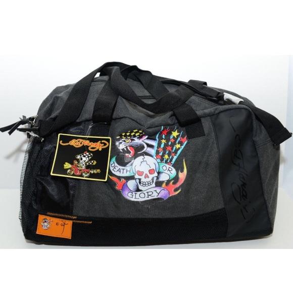 Ed Hardy Bags   Large Gymovernightduffle Bag   Poshmark aadb3e5a45