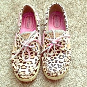 Sperry Top-Sider Shoes - Sperry Top Sider Leopard Calf-Hair Shoes