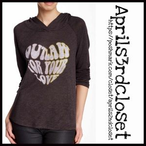 Urban Outfitters Tops - TUNIC Pullover Hoodie