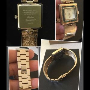 STERLING Signature Mother of Pearl Watch 🍀Rare🍀