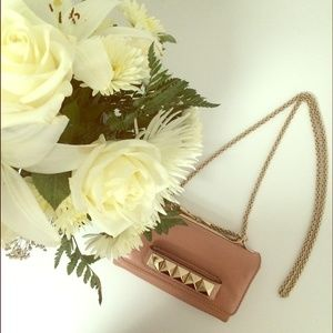 Valentino Handbags - Authentic nude pink Va Va Voom bag clutch