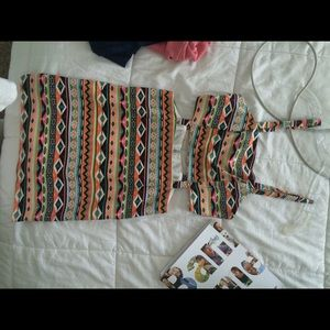 Tribal dress! Size medium