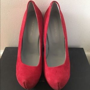 Surface To Air Shoes - Red pump heels
