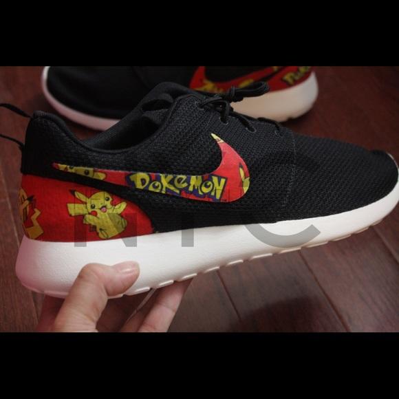 Pokemon Pikachu Nike Roshe One Custom