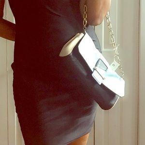 DANNIJO Handbags - 🆕 DANNIJO SKY COMBO GOLD LINK CHAIN BAG