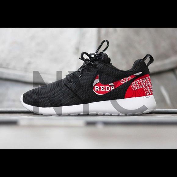 Cincinnati Reds Nike Roshe One Custom