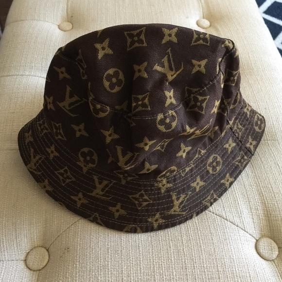e911e6ad9258f Louis Vuitton Accessories - Louis Vuitton Bucket Hat