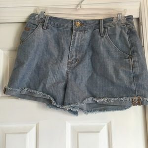 Quicksilver denim shorts