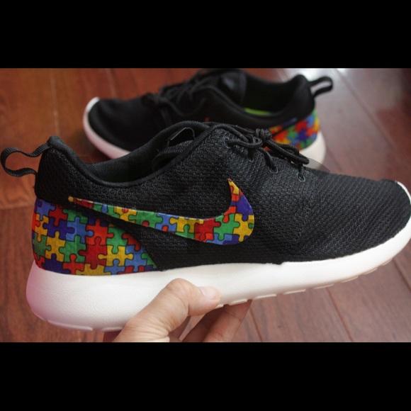 Autism Awareness Nike Roshe Run