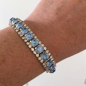 Blue Rinestone Bracelet