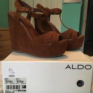 ALDO Oden Wedges - Suede