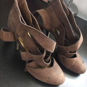 Nine West Stap Heels