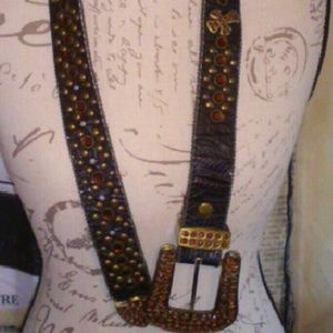 Accessories - Gothic, western - rubi rhinestones belt