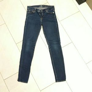 "7 for all Mankind ""the skinny"" jean"