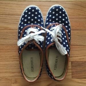 Forever 21 Polka Dot Shoes