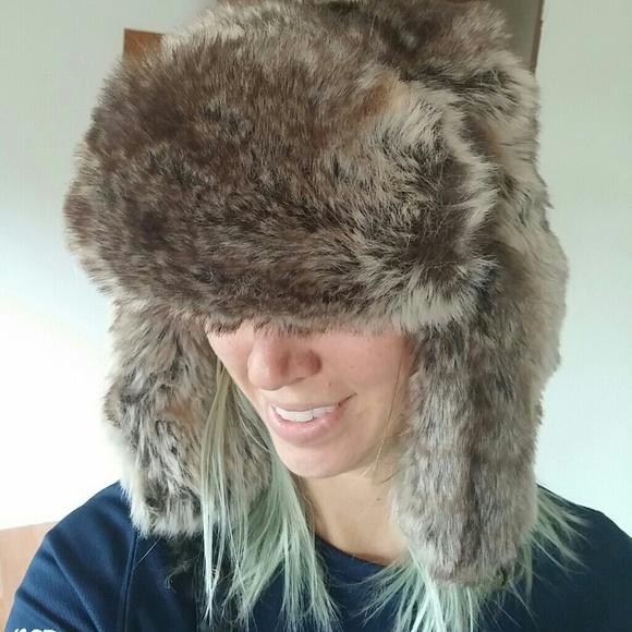 52f643644b3 H M Accessories - Super Amazing Faux Fur Trapper Hat