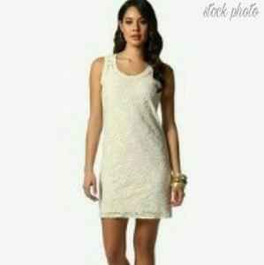Daisy Fuentes Dresses & Skirts - 🔴 Sale Daisy Fuentes - Floral Lace Dress