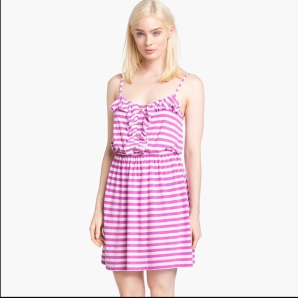 00bf7915a8e4 Lilly Pulitzer Dresses   Skirts - Lilly Pulitzer purple striped dress