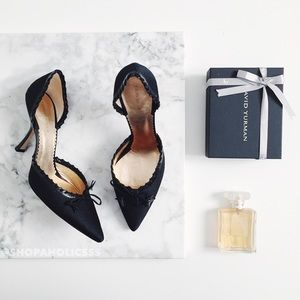 Giorgio Armani Shoes - 🎉 GIORGIO ARMANI Bow Monogram D'orsay Pumps