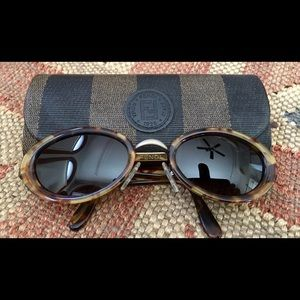 FENDI Accessories - Rare Fendi Vintage Tortoise Sunglasses