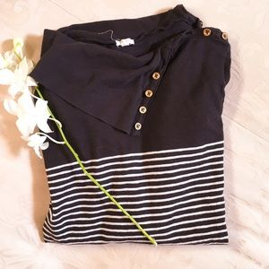 Jcrew striped long sleeve