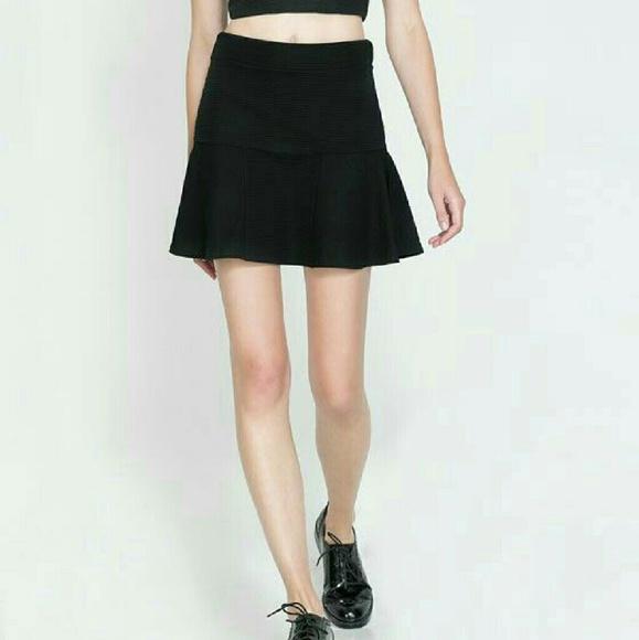80% off Zara Dresses & Skirts - Sale! Zara flared mini skirt from ...