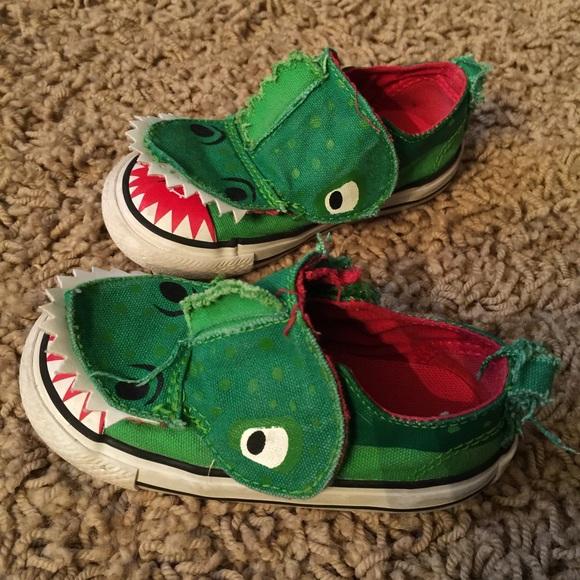 Toddler Converse Alligator Shoes