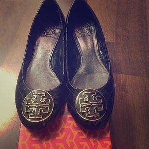 Quilted Tory Burch Flats!
